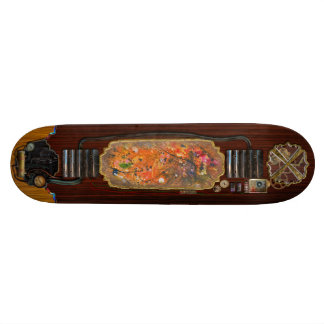 Abstract - Crayon - The Excitement Skate Board Deck