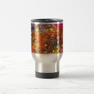 Abstract - Crayon - The Excitement Travel Mug