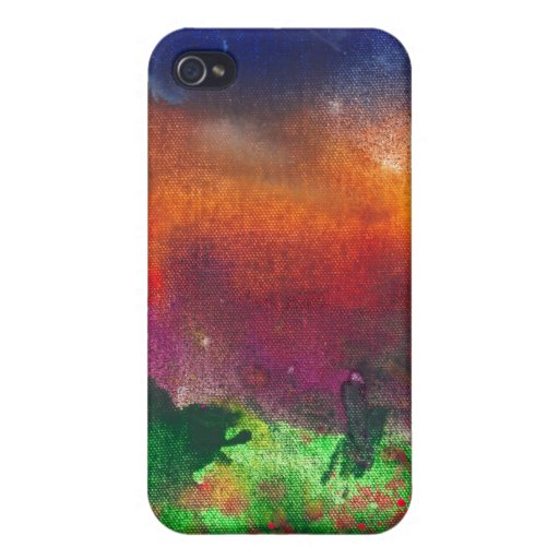 Abstract - Crayon - Utopia Cases For iPhone 4