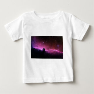 Abstract Crazy Purple Space View Baby T-Shirt