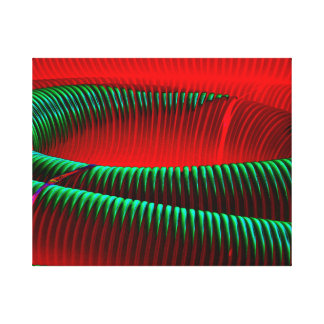 Abstract created from abandoned industrial tubing. canvas print