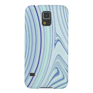 Abstract Creation (Blue Ice) Galaxy S5 Case
