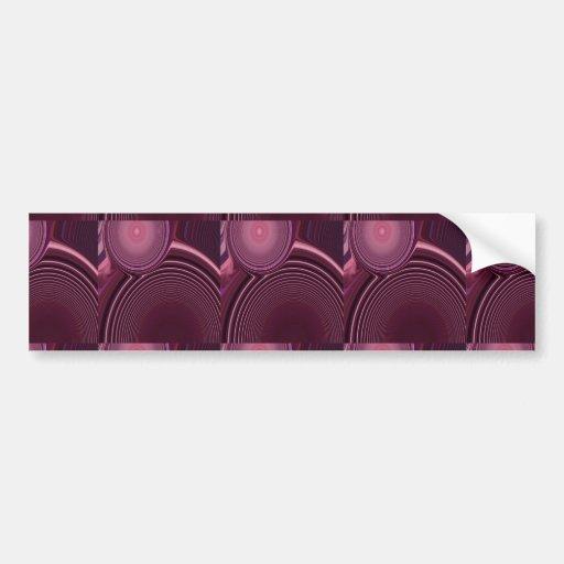 Abstract Creation Car Bumper Sticker