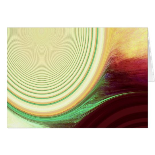 Abstract Creation Card