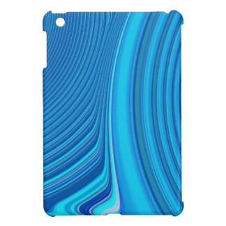 Abstract Creation (Electric Blue) Case For The iPad Mini