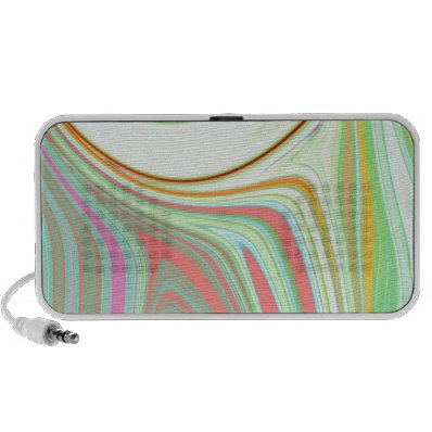 Abstract Creation Laptop Speakers