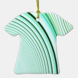 Abstract Creation (Mint Green) Christmas Tree Ornament