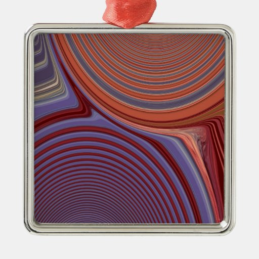 Abstract Creation Ornament