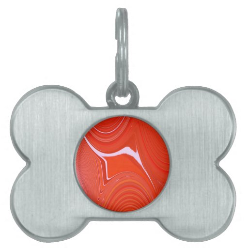 Abstract Creation Pet ID Tags