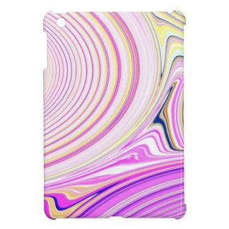 Abstract Creation (Pink & Yellow) iPad Mini Case