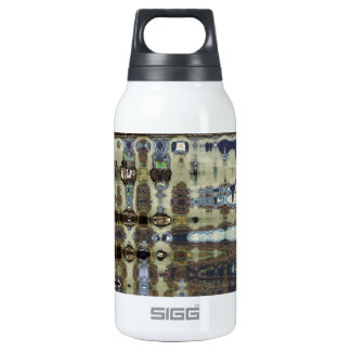 ABSTRACT CROCODILE  SKIN 10 INSULATED WATER BOTTLE