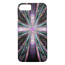 Abstract cross art iPhone 7 case