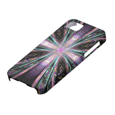 Abstract cross art iPhone cover iPhone 5/5S Covers
