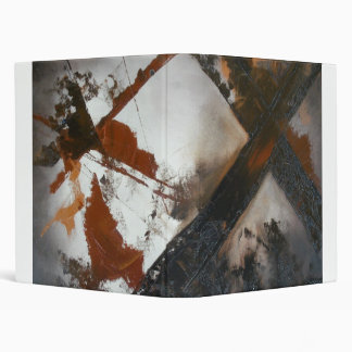 Abstract Cross Vinyl Binder