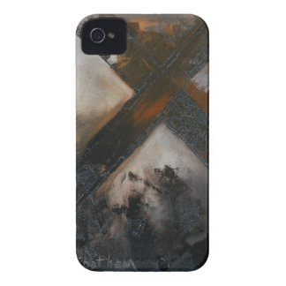Abstract Cross iPhone 4 Case-Mate Cases