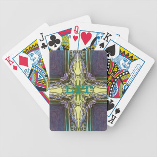 "Abstract Cross Trending ""LIT"" Slang Spirituality Bicycle Playing Cards"