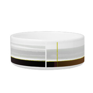 Abstract Crown and Yellow Bowl