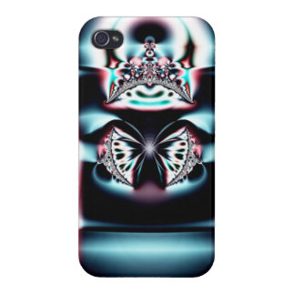 Abstract Crown Case For iPhone 4