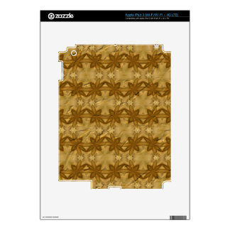 Abstract crumpled paper iPad 3 skin