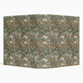 Abstract Crystal Pattern Binder 1.5-in