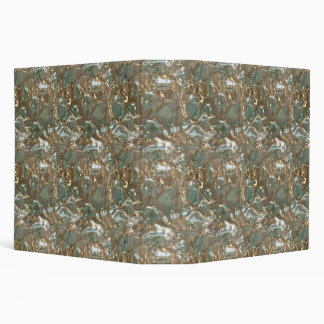 Abstract Crystal Pattern Binder 2-in