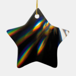 Abstract Crystal Reflect Bolt Christmas Tree Ornament