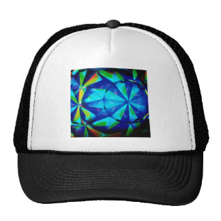 Abstract Crystal Reflect Clown Hat