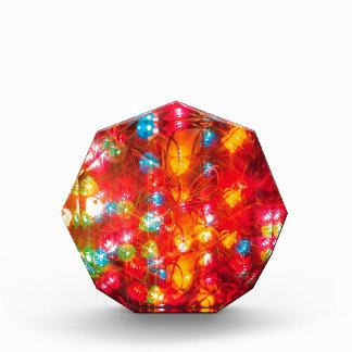 Abstract Crystal Reflect Coloured Award