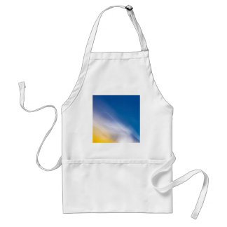 Abstract Crystal Reflect Crack Apron