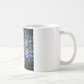 Abstract Crystal Reflect Dandelion Coffee Mug