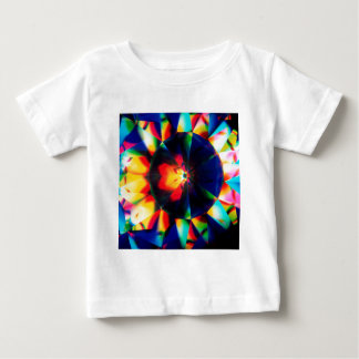 Abstract Crystal Reflect Flower Baby T-Shirt
