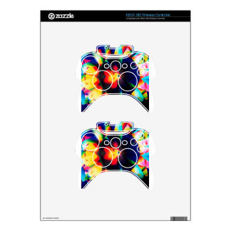 Abstract Crystal Reflect Flower Xbox 360 Controller Skin