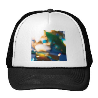 Abstract Crystal Reflect Jewel Thief Trucker Hat
