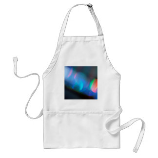Abstract Crystal Reflect Lightsaber Adult Apron