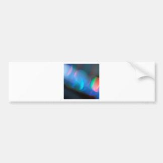 Abstract Crystal Reflect Lightsaber Car Bumper Sticker