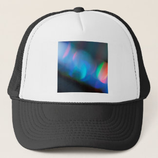 Abstract Crystal Reflect Lightsaber Trucker Hat