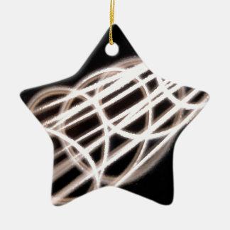Abstract Crystal Reflect Loops Christmas Tree Ornaments