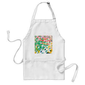 Abstract Crystal Reflect Mars Adult Apron
