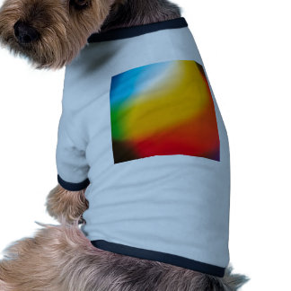 Abstract Crystal Reflect Mix Paint Pet Tee