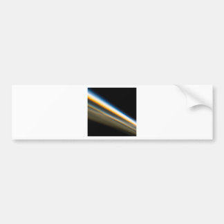 Abstract Crystal Reflect Motorway Car Bumper Sticker