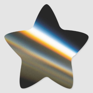 Abstract Crystal Reflect Motorway Star Sticker