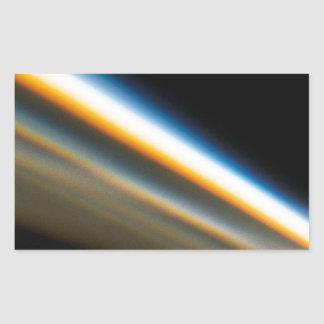 Abstract Crystal Reflect Motorway Rectangular Sticker