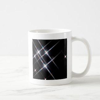 Abstract Crystal Reflect Prism Stars Coffee Mug