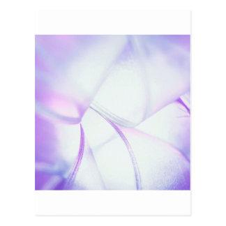 Abstract Crystal Reflect Purple Smash Postcard