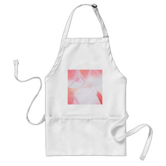 Abstract Crystal Reflect Rose Glass Adult Apron