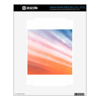 Abstract Crystal Reflect Shell NOOK Decals
