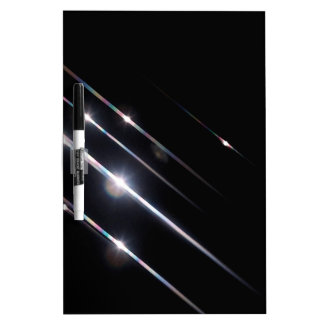 Abstract Crystal Reflect Skyline Dry Erase White Board