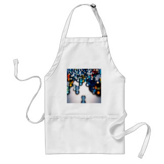 Abstract Crystal Reflect Snooker Adult Apron