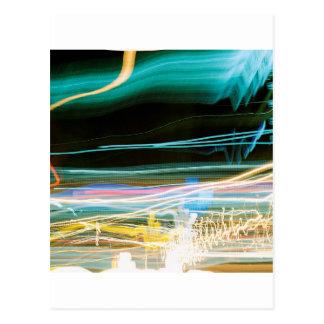 Abstract Crystal Reflect Sonic Postcard