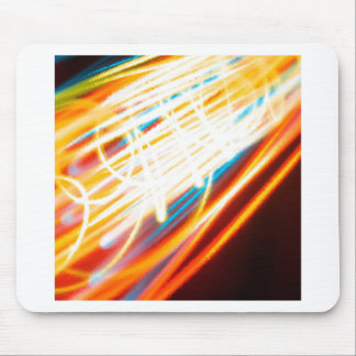 Abstract Crystal Reflect Speedway Mousepad